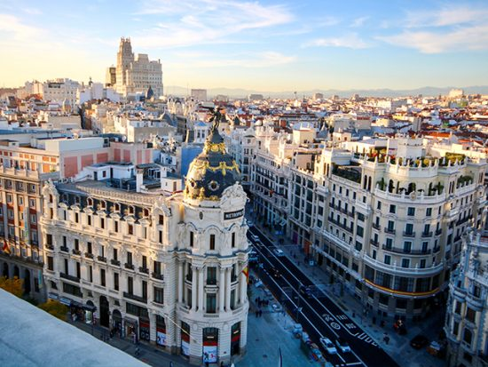 Madrid Gran Via View
