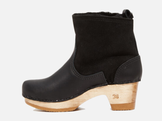 No.6 Pull On Shearling Booties.