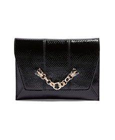 Panther Chain Clutch Crossbody Bag TOPSHOP.