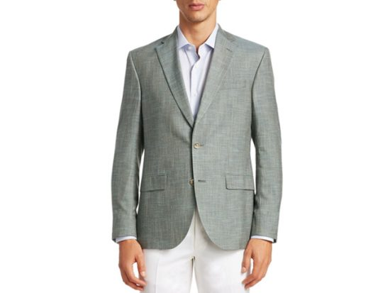 Saks Fifth Avenue COLLECTION Slub Weave Sportcoat