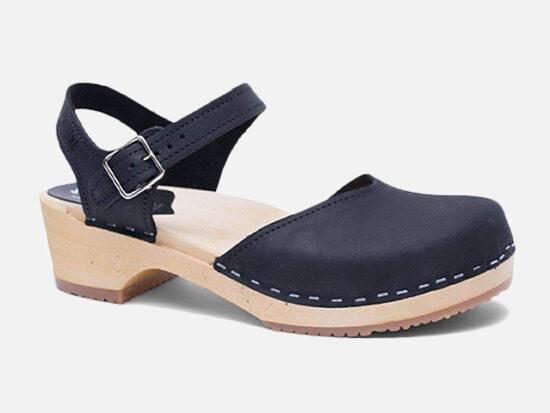 Sandgrens Swedish Handemade Wooden Clog Sandals.
