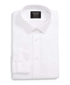 Smartcare™ Trim Fit Solid Dress Shirt NORDSTROM MEN'S SHOP