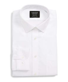 Smartcare™ Trim Fit Solid Dress Shirt NORDSTROM MEN'S SHOP