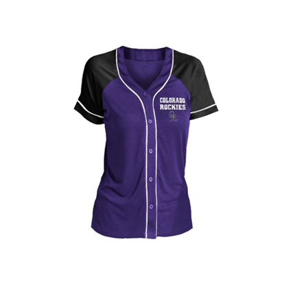 Target MLB Colorado Rockies Women's Fashion Jersey