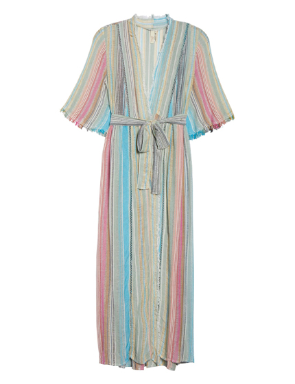 Tie Front Cover-Up Dress ELAN