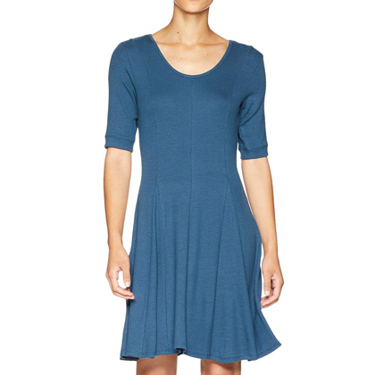 Toad&Co Daisy Rib Café Sleeve Dress