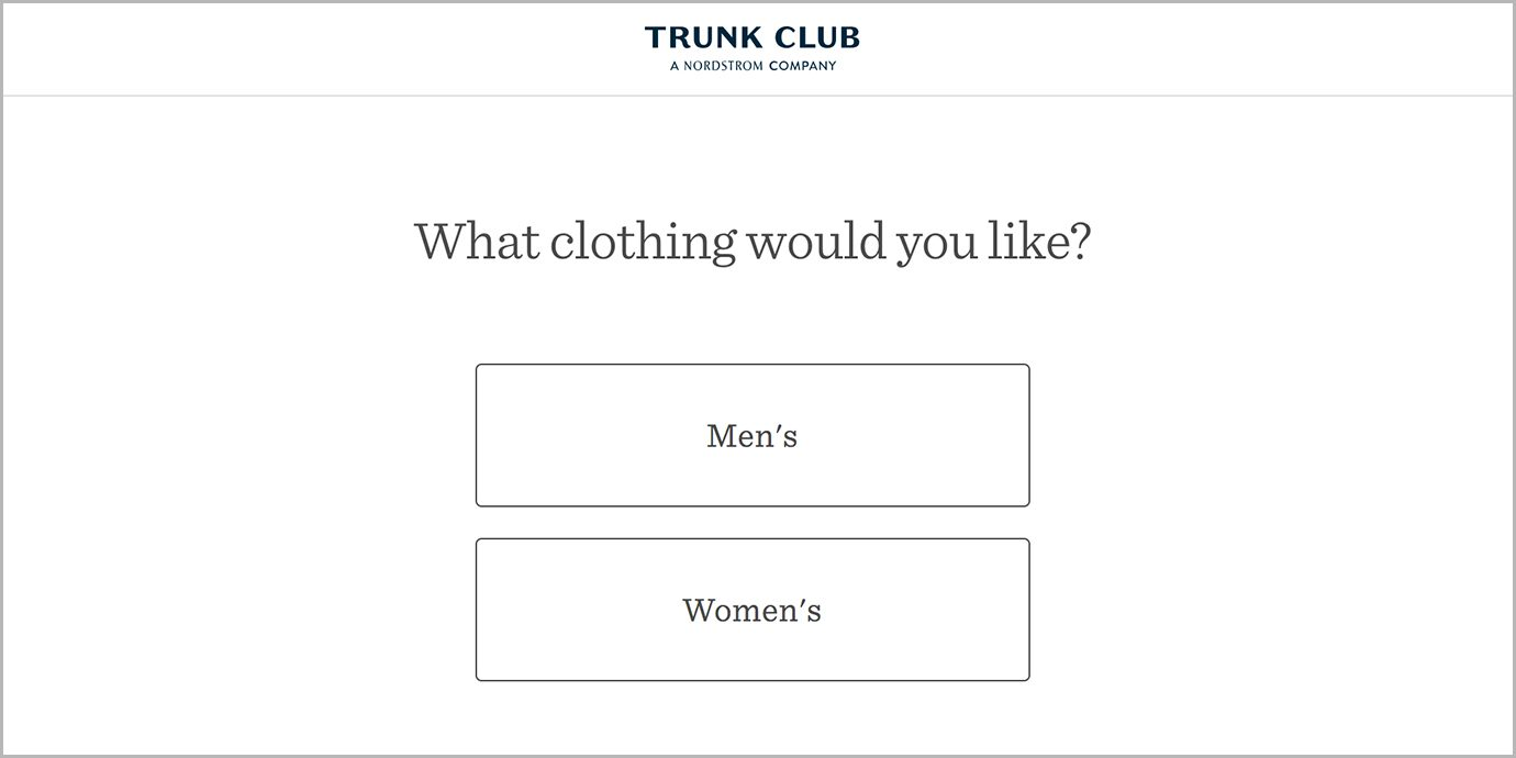 Trunk Club for Men or Women