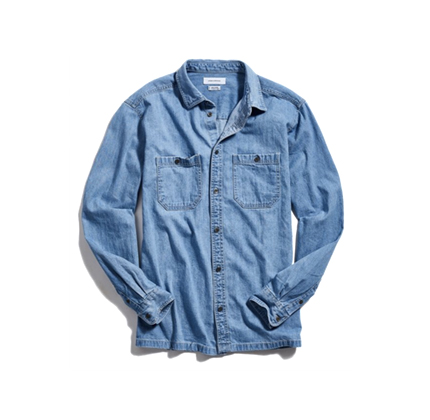Urban Outfitters UO Denim Dad Button-Down Shirt