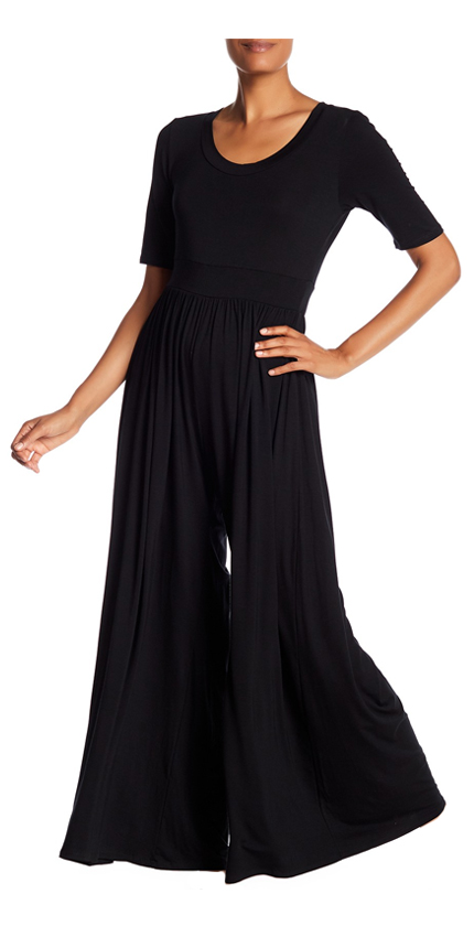 WEST KEI Knit Wide Leg Jumpsuit