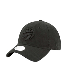 Women's Toronto Raptors New Era Black Core Classic Tonal Team 9TWENTY Adjustable Hat