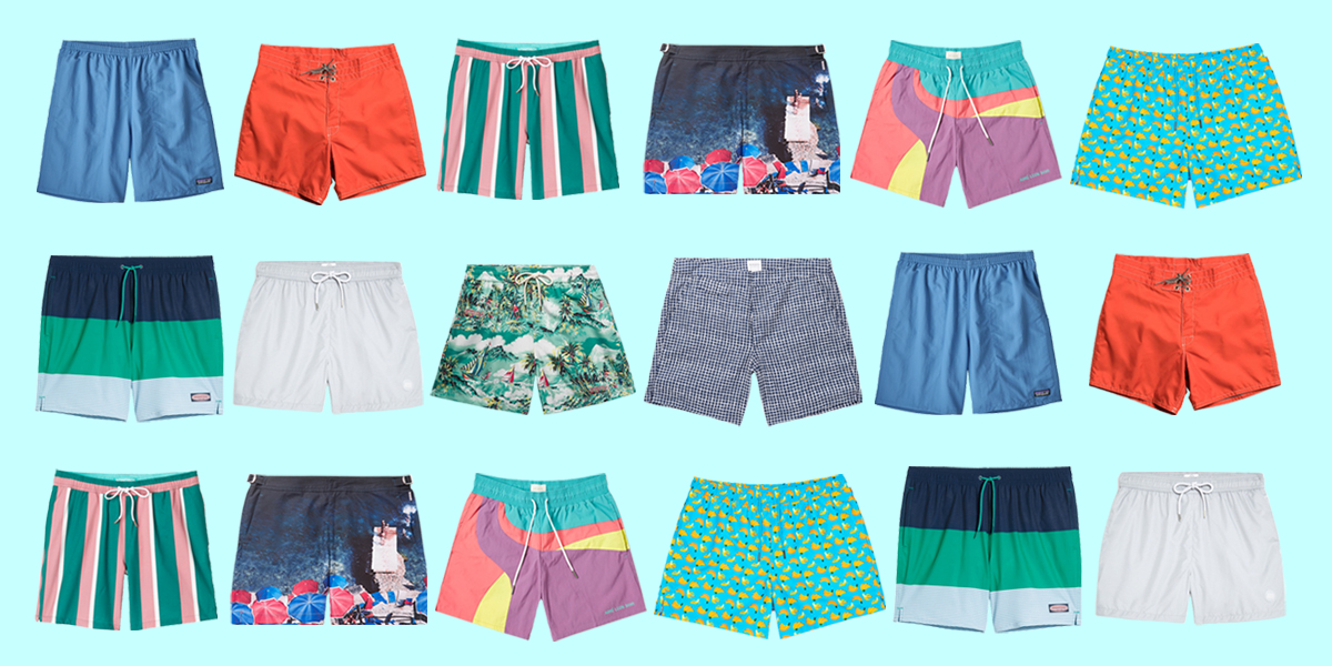 22 Best Men's Swim Trunks for All Your Trips