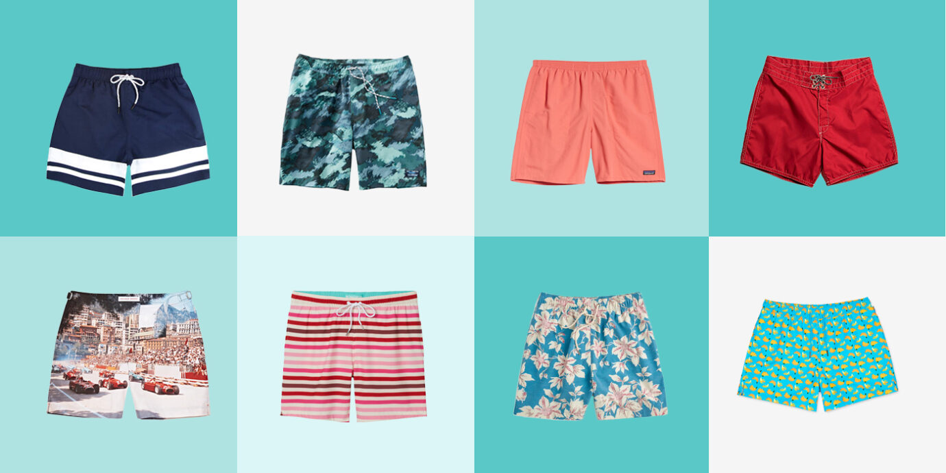 22 Best Men's Swim Trunks for All Your Trips.