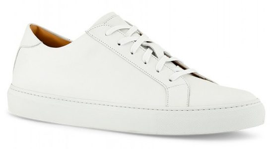 Ace Marks DRESS SNEAKERS IN WHITE.