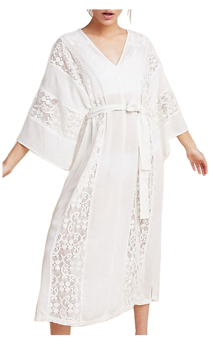 Anthropologie Lace Cover-Up Dress.