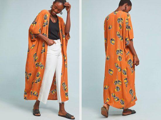 Anthropologie Lois Duster Kimono