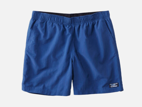 L.L. Bean Classic Supplex Sport Shorts.