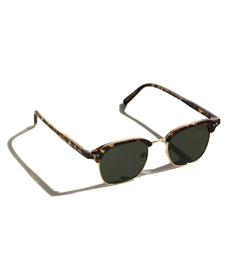 Clyde Granddad Half-Frame Sunglasses.