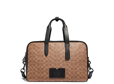 Coach Academy Travel Duffle In Signature Canvas.