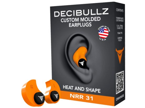 Decibullz - Custom Molded Earplugs 31dB Highest NRR