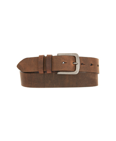 Distressed Waxed Harness Leather Belt TORINOv