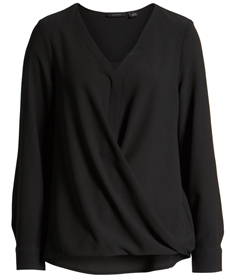 Faux Wrap Top HALOGEN®