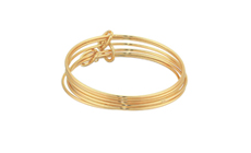 French Connection Skinny Bangle Bracelet Set