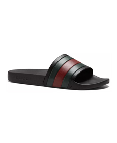 Gucci Men's Rubber Slide Sandals