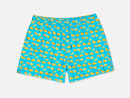 BANANA SWIM SHORTS.