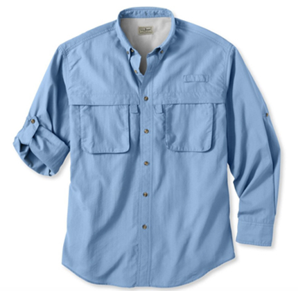 Men's Tropicwear Shirt L.L. Bean