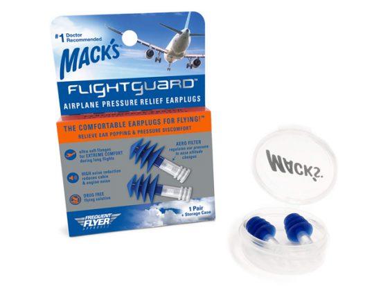 Mack's Flightguard Airplane Pressure Relief Earplugs