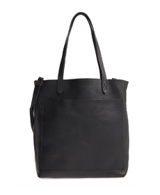 Medium Leather Transport Tote MADEWELL