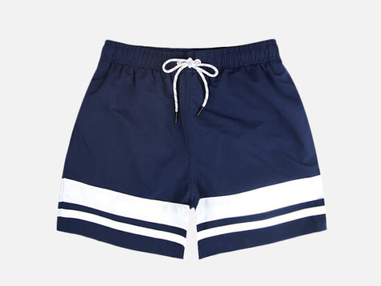 QRANSS Men's Quick Dry Swim Trunks.