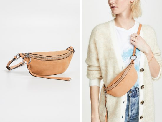 Rebecca Minkoff Bree Mini Belt Bag.