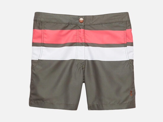 Retromarine | Wide Stripe Swim Short.