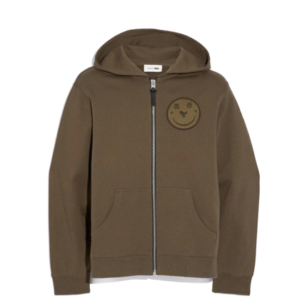 Coach Rexy By Yeti Out Zip Hoodie.