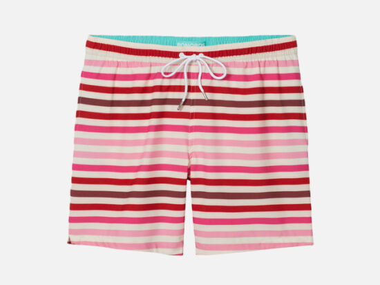 Riviera Recycled Swim Trunks.