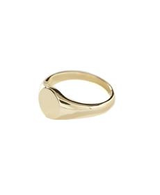 Shashi 18K Gold Signet Ring