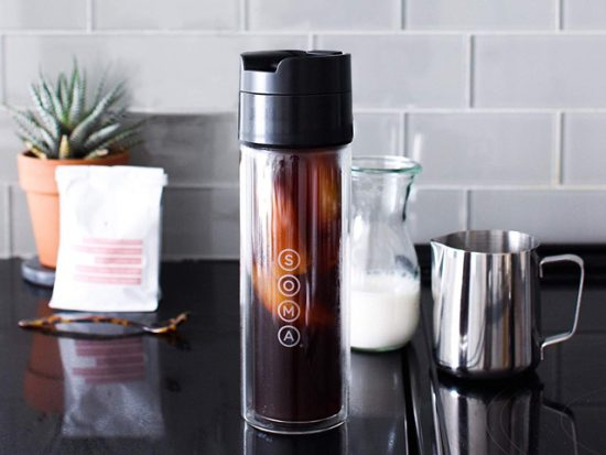 Soma Double Wall Glass Tea and Coffee Cold Brew Bottle