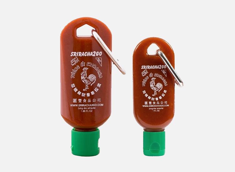Sriracha Mini Keychain Combo Pack.