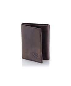 Stealth Mode Trifold RFID Blocking Leather Wallet.