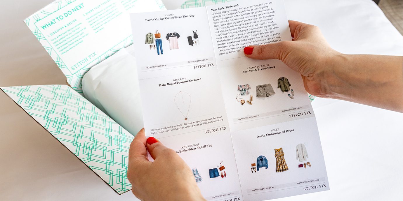 Stitch Fix Style Sheet.