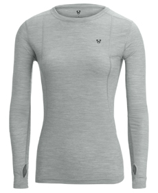 Stoic Merino Blend Crew Baselayer Top - Women's