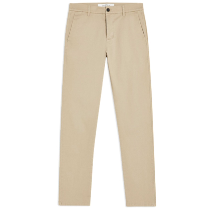 Topman Stone Slim Essential Chinos