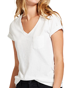 Target Women's Monterey Pocket V-Neck Short Sleeve T-Shirt - Universal Thread