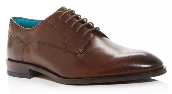 Ted Baker Men's Parals Leather Plain-Toe Oxfords.