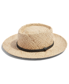Topshop Flat Top Straw Hat