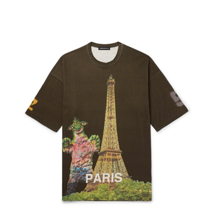 UNDERCOVER Oversized Printed Cotton-Jersey T-Shirt