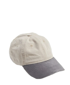 UO Colorblock Suede Brim Baseball Hat