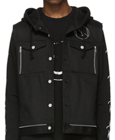 Undercover Black New Warriors Vest