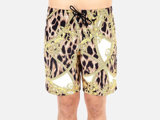 Versace Men's Mare Uomo Graphic Shorts.